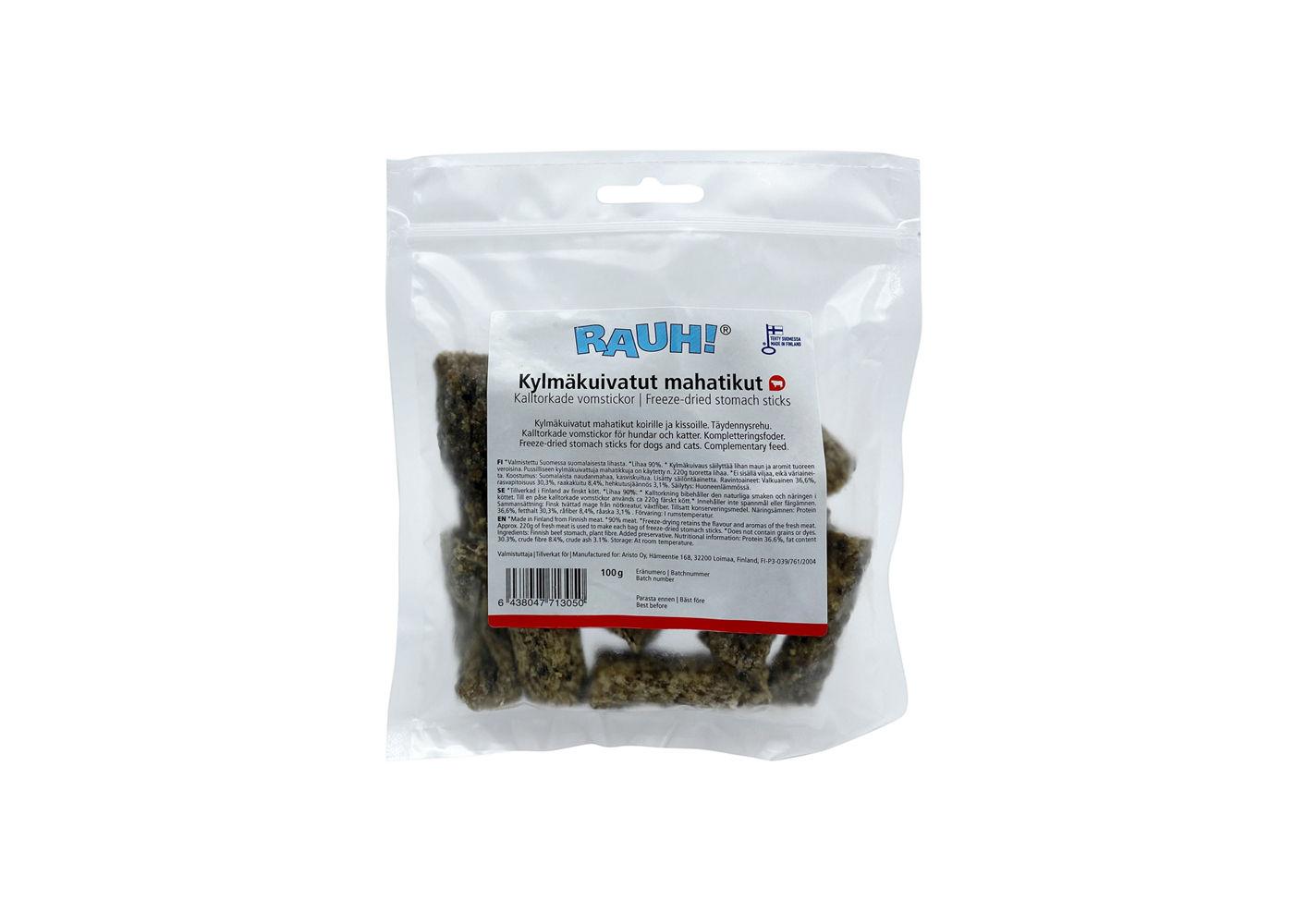 RAUH Freeze-dried Stomach Sticks 100 g